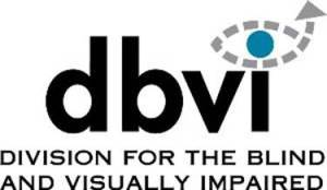 Logo for the Vermont Division for the Blind and Visually Impaired