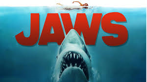 "Movie poster from the 1975 film ""JAWS"""